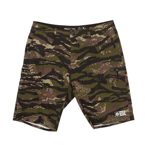 Salty Crew HIGH SEAS CAMO WALKSHORTS Hybrid Short