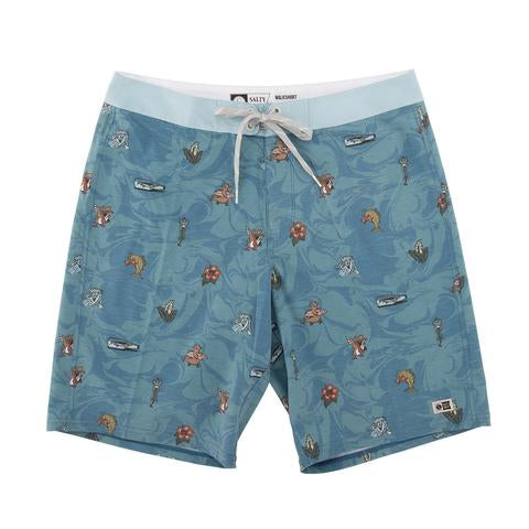 Salty Crew BONZARELLY BLUE BOARDSHORTS