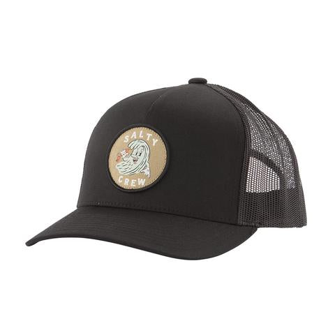 Salty Crew DING REPAIR BLACK RETRO TRUCKER Cap