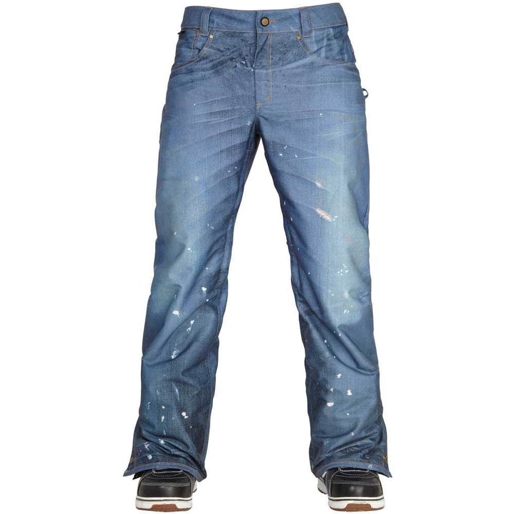 686 Mens Deconstructed Insulated Denim Snowboard Pant