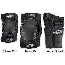 Osprey Protection Triple Pad Set (Elbows, Knees and Wrists)
