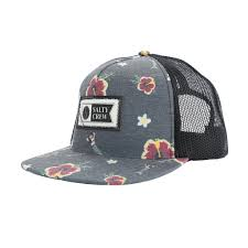 Salty Crew ISLAND CUSTOM BLACK TRUCKER Cap