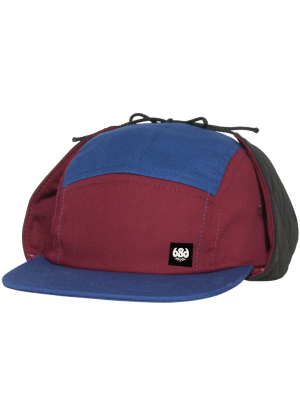 686 5 Panel Earflap Snowboard Cap ( 3 colour ways )