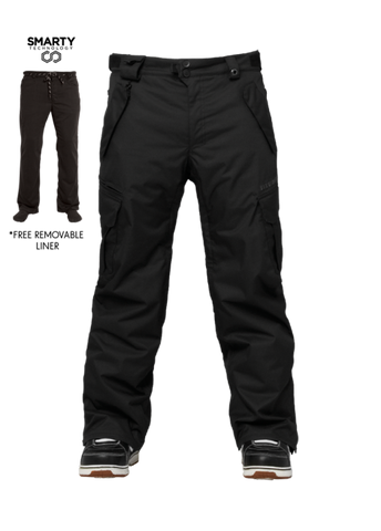 686 Men's Authentic SMARTY® 3-In-1 Cargo Pant - Tall or Short Snowboard Pants