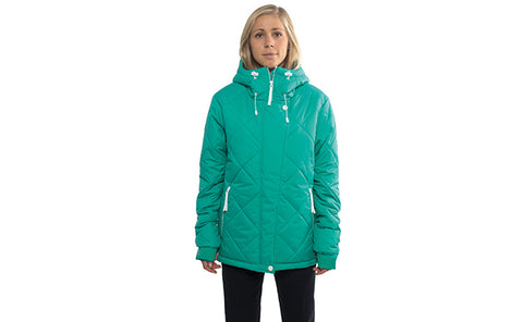 Colour Wear Women's Pad Snowboard Jacket