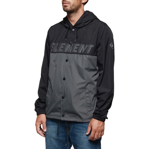 Element TRAVEL WELL HOODED COACH JACKET