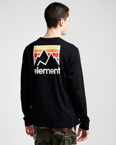 Element JOINT BACKPRINT LONG SLEEVE T-SHIRT
