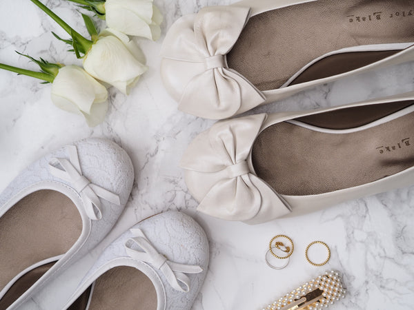 Here comes the Bride… IN HER TAYLOR BLAKES!