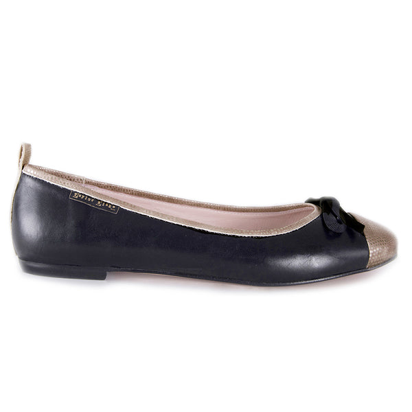 soft leather ballerina flats