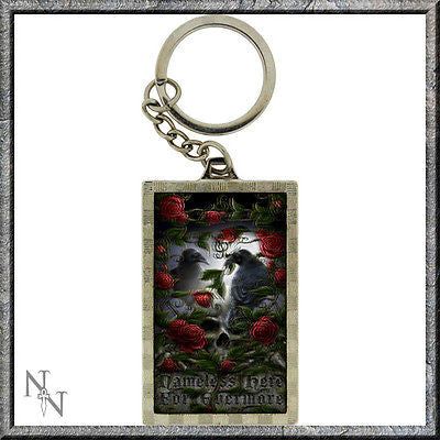 Linda M Jones, Sorrow for the Lost, Fantasy, Superb 3D lenticular Keyring
