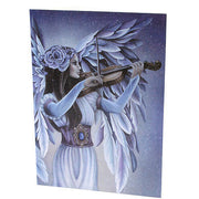 Divine melody greetings card