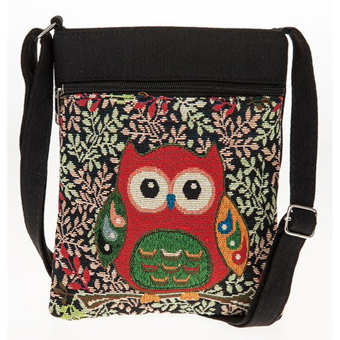 Owl Shoulder bag/Black
