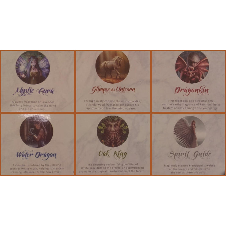 Incense descriptions