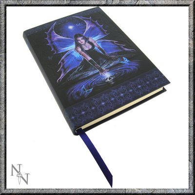 Embossed Journal, Immortal flight design, Anne Stokes