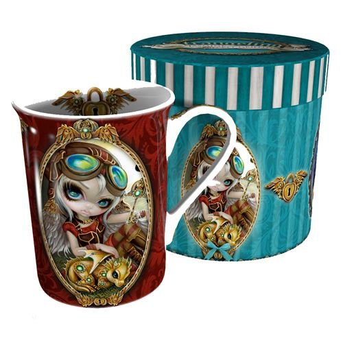 Clockwork Dragonling mug