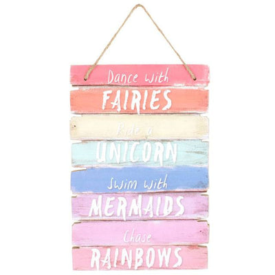 Dance with fairies wall plaque