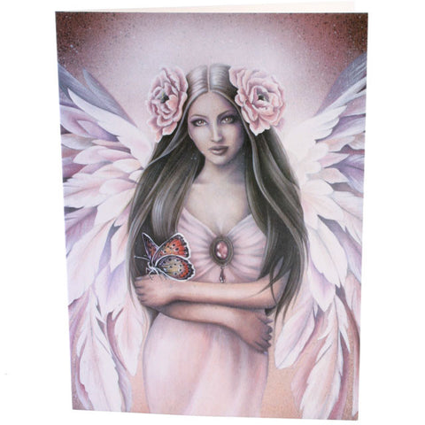 Emergence Angel,  All occasions Greeting Card, Jessica Galbreth