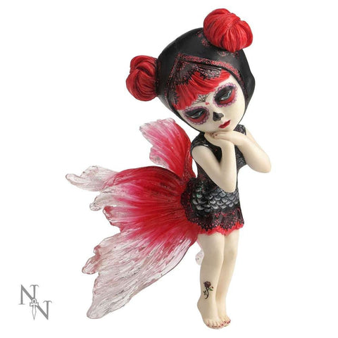 Koi dancer, Cosplay Kid fairy figurine