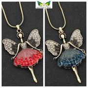 Antique look fairy necklaces