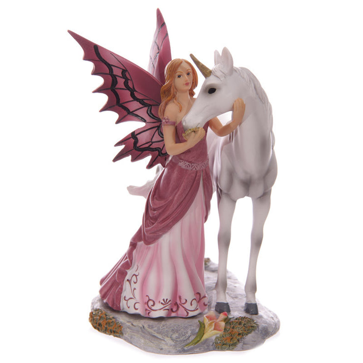 Mystical Friend, Fairy and Unicorn figurine