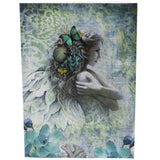 Ocean Garden, Angel greetings card, Jessica Gallbreth