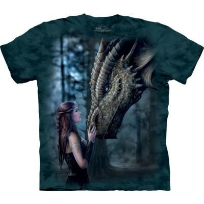 Once Upon a Time, Dragon themed T-Shirt, Anne Stokes collection, The Mountain