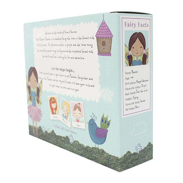 PHEOBE AND TEAL FAIRY DOOR GIFT SET, box rear
