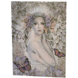 Jessica Galbreth, Rustle of Wings,  All occasions Angel Greeting Card