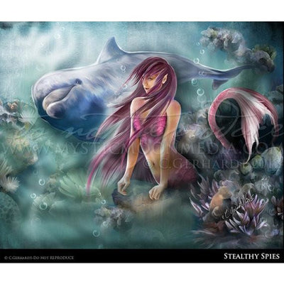 Stealthy seas print, © Mystic Moon Media LLC