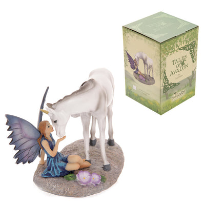 Unicorns kiss, Fairy & Unicorn figurine