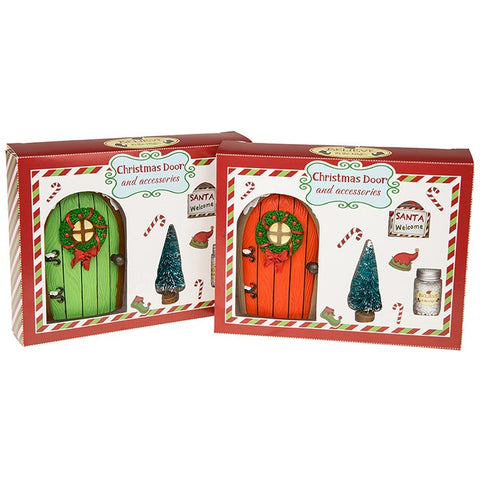 Christmas Elf door sets