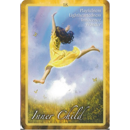 Chakra Insight Oracle, Example card: Inner Child