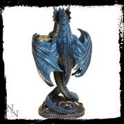 Dragon heart candle holder, alternative view