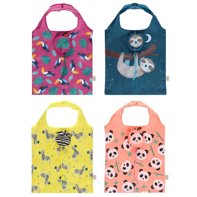 Eco animals shopping bags