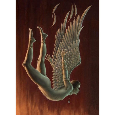 Fallen Angel, Chris Down, All Occasions Greeting card