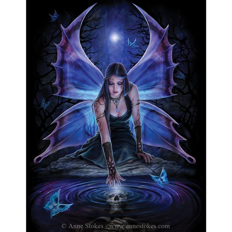 Immortal flight fairy art by Anne Stokes
