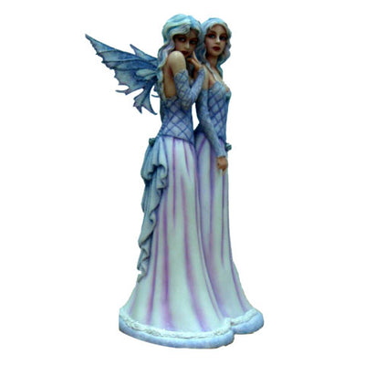 Sisters love, fairy figurine