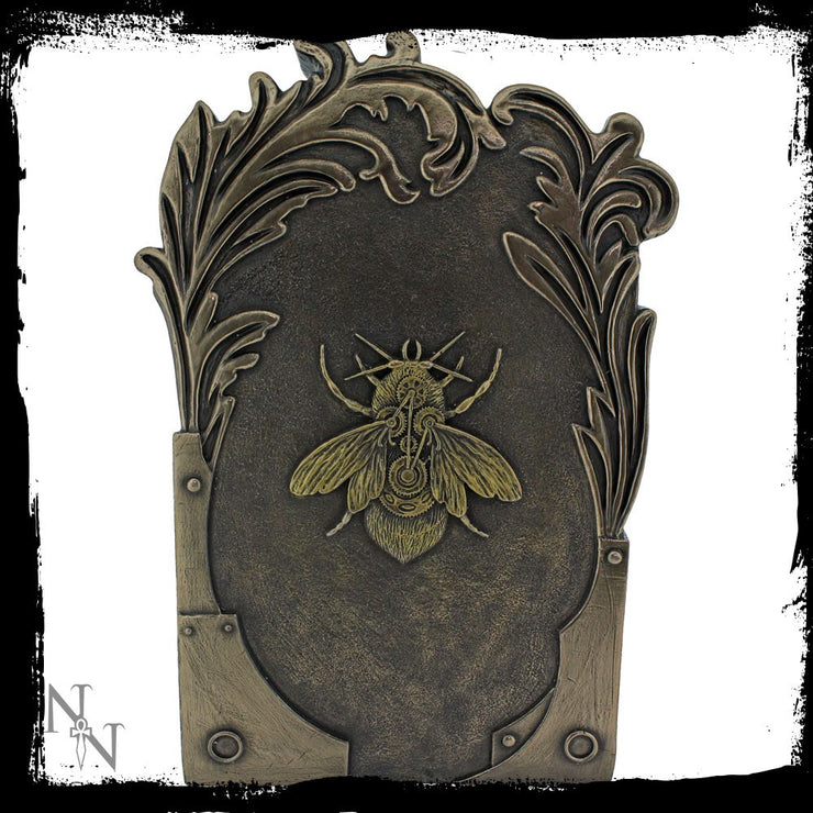 Steambee ornament by Bridget Ashwood, rear view