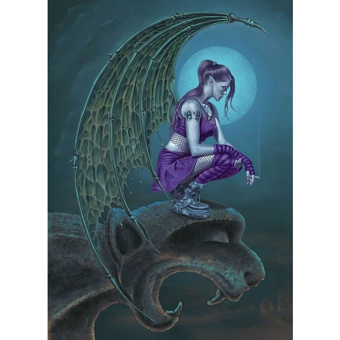 Succubus Moon, Chris Down, All Occasions Greeting card