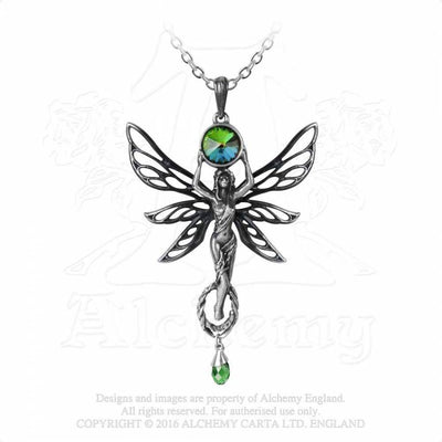 The Green Goddess, Fine Pewter Pendant