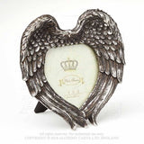 Angel wings, heat shaped photo frame, alternate view