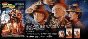 back to the future part iii film poster drew struzan