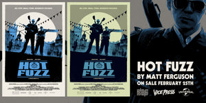 Hot Fuzz Matt Ferguson Alternative Movie Poster