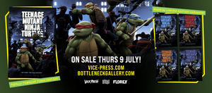 teenage mutant ninja turtles florey bottleneck gallery vice press