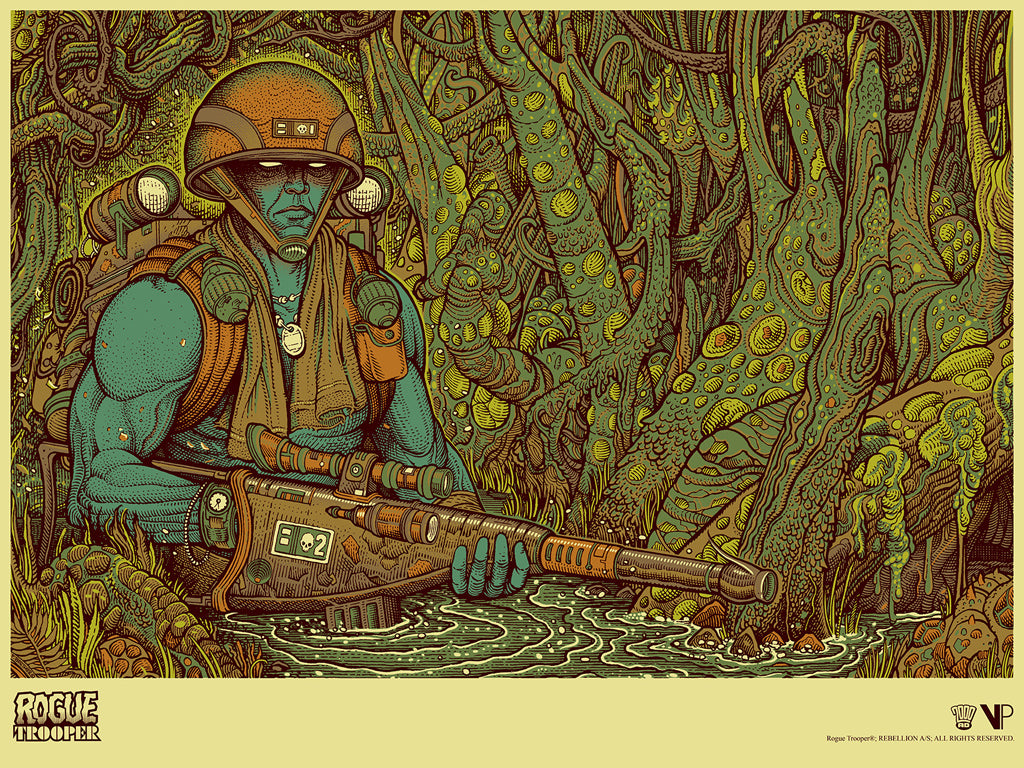 Rogue Trooper by Florian Bertmer