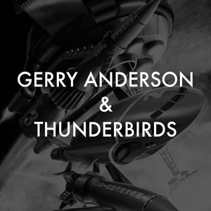 vice press Gerry Anderson thunderbirds screen print poster collection