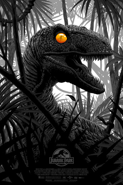 Jurassic Park Florey Alternative Movie Poster Variant