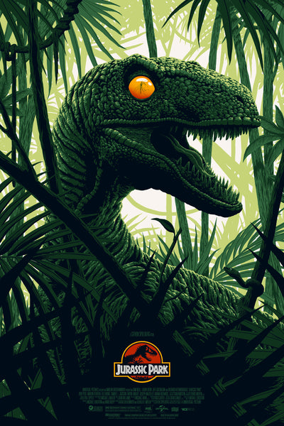 Jurassic Park Florey Alternative Movie Poster