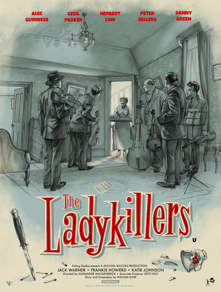 The Ladykillers by Jonathan Burton