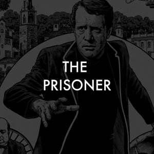 vice press the prisoner screen print poster collection